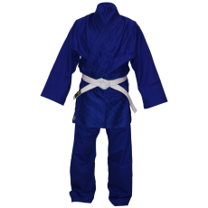 Blue Double Weave Gi's.