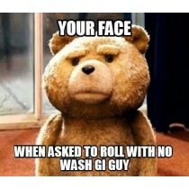 no wash gi